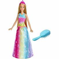 Barbie - Princesse arc en ciel sons et lumières - FRB12