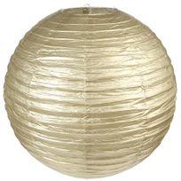 Santex - Lanterne Boule - Taille Xl - Or