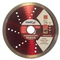 WellCut - Disque Profi Diamant Continu - Taille - Ø 180 x 25,4mm
