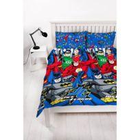 Dc Comics - Parure de lit double Justice League Star