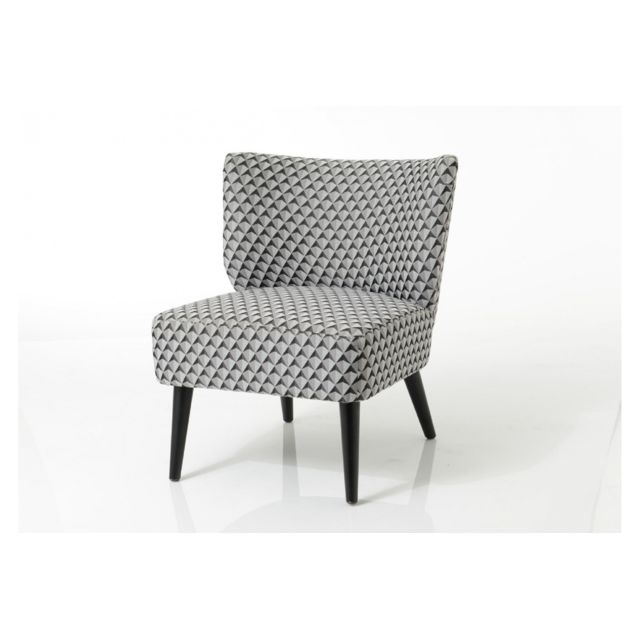 HELLIN Fauteuil tissus Jacquard- ROSIE