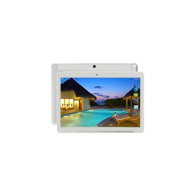 Auto-hightech Tablette Pc appel téléphonique 4G, 9.6 pouces, 2Go+32Go, Android 5.1, Octa Core 1.0GHz, double Sim, Gps argenté