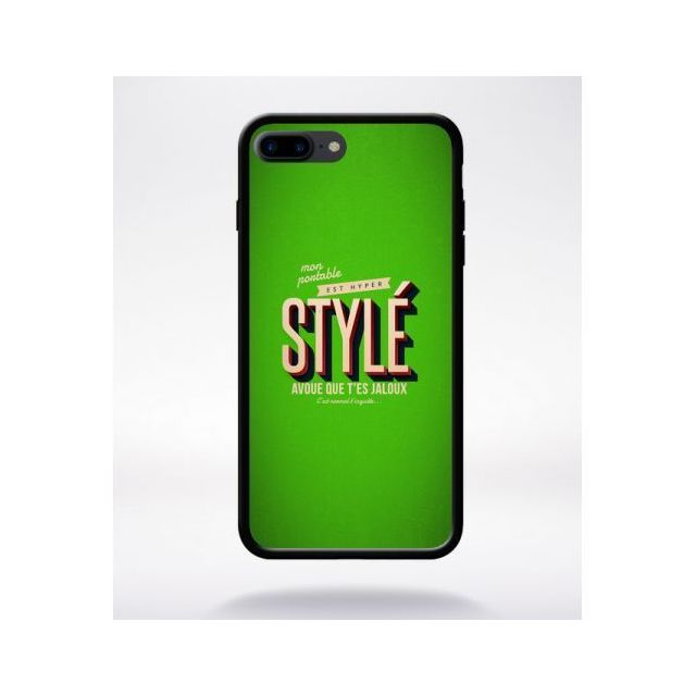 coque apple noir iphone 7 plus