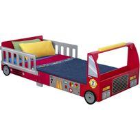 Kidkraft - Lit pour tout-petits Camion de pompier