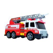 Dickie Toys - Dickie 203308358 Fire Brigade - Camion De Pompiers Avec Fonction Jet D'EAU