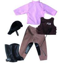 Gotz - Vêtements pour poupée de 42 à 50 cm : Götz Boutique Tenue de cavalière