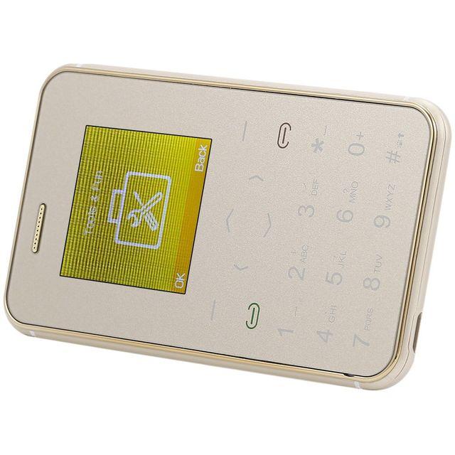 Auto-hightech Téléphone avec écran Hd 1.54 pouces podomètre et alerte audio - Rose