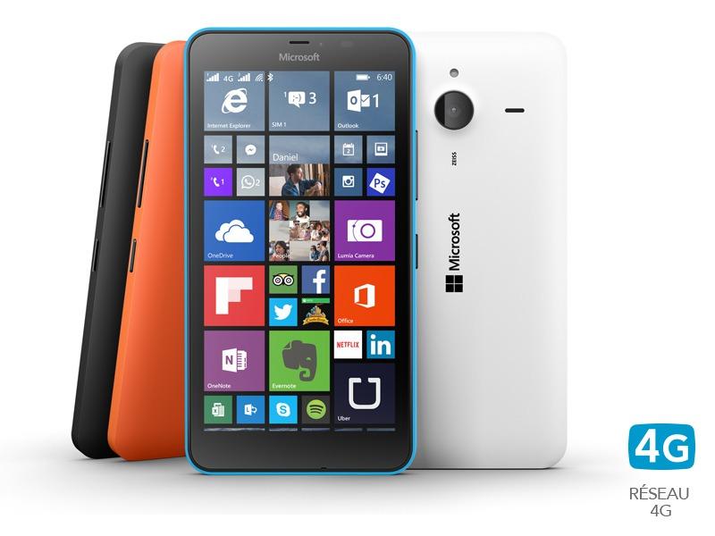 Lumia 640 XL cyan double Sim