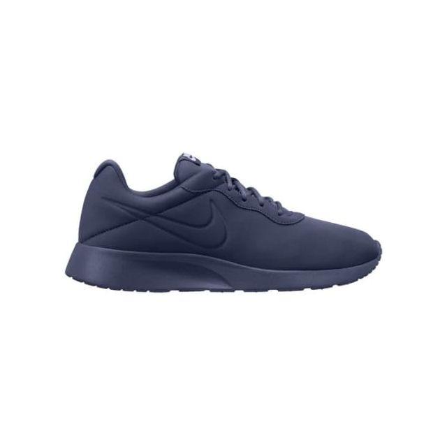 hot sales 935fe 8d03c Nike - Chaussures Tanjun Premium bleu indigo Multicolour - pas cher Achat    Vente Chaussures fitness - RueDuCommerce