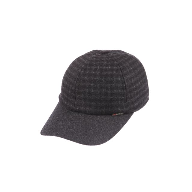 833950733a39 Göttmann - Casquette Polo K2 déperlante en laine avec cache-oreilles, noire  à carreaux gris - pas cher Achat   Vente Casquettes, bonnets, ...