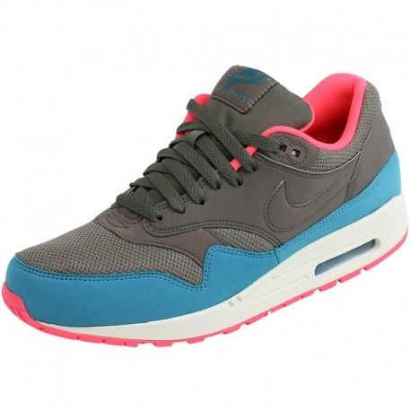 Nike Chaussures Air Max 1 Essential Homme Gris pas cher