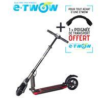 E-twow - Trottinette patinette électrique Etwow booster plus grande autonomie 33V gris lithium pliable