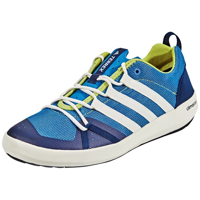 Adidas Terrex Cc Boat Chaussures bleublanc pas cher