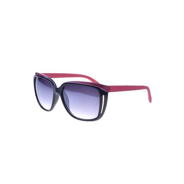 Wewoo - Uv400 Retro Style lunettes soleil pour les sports plein air Couleur  monture  Noir 41507bb776f6