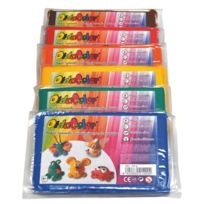 Didacolor - lot de 6 pains de 500g d'argile