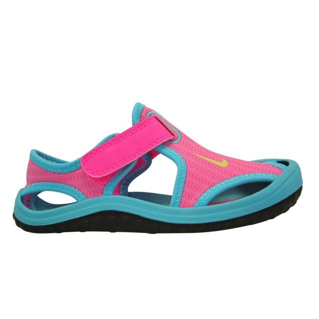 0ecd92690ed Nike - Sandales Sunray Protect TD - pas cher Achat   Vente Sandales et  tongs enfant - RueDuCommerce