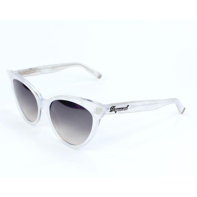 bas prix 668ae f1cdd Lunettes de soleil Dsquared Dq-0097-S 22B Femme Blanc