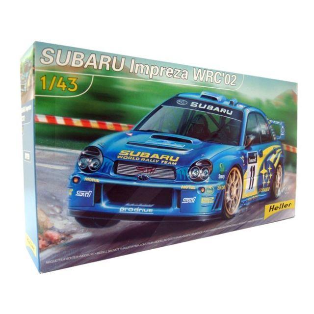 Heller Subaru Impreza Wrc 02 1/43 Accessoires Colle Peinture inclus