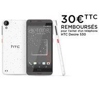 HTC - Desire 530 - Remix Blanc Corail