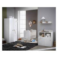 Commode - Table à langer Jungle - 87 x 73 x 101 cm - Blanc