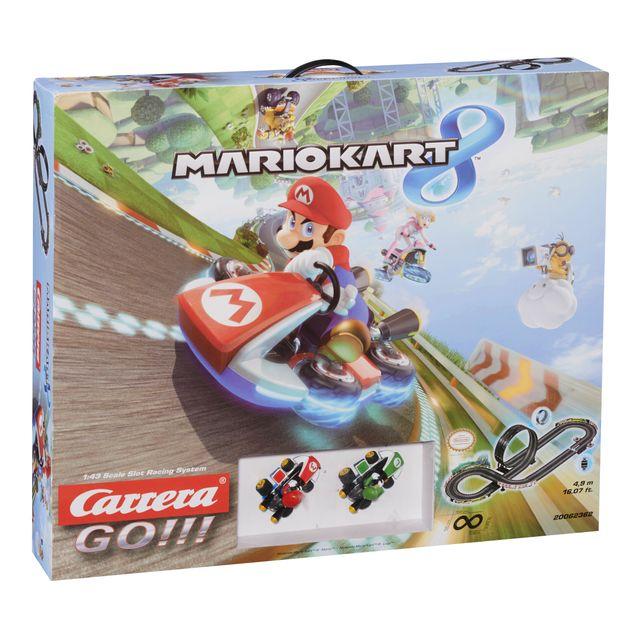 CARRERA GO Circuit électrique Mario Kart 8 avec 2 voitures