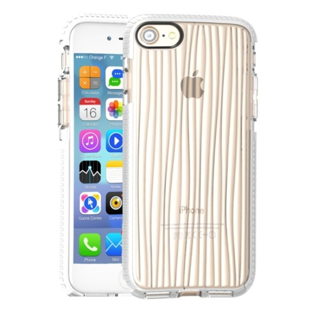 Wewoo - Coque pour iPhone 8   7 Motif Ripples D30 + Tpu - pas cher ... 5134b358a36