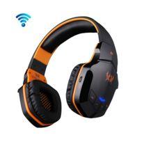 Wewoo - Pour iPhone, Galaxy, Sony, Htc, noir et orange Huawei, Xiaomi, Lenovo autres smartphones + sans fil Bluetooth 4.1 Stéréo Gaming Headset Support Nfc avec micro