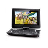Auto-hightech - Lecteur Dvd Portable 10.1 - Jeux, Fonction Copie, Rotation 270°, Résolution 1024x768