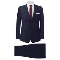 7e83e38368f Costume homme versace. Vidaxl - Costume pour hommes 2 pièces Bleu marine  Taille 54