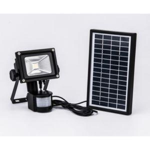 projecteur solaire d tecteur de mouvement 800 lumens pas cher achat vente spot projecteur. Black Bedroom Furniture Sets. Home Design Ideas