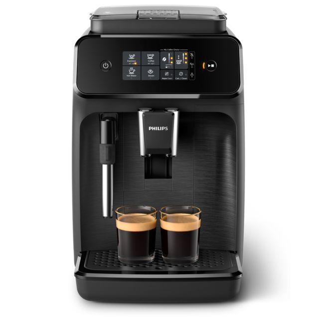 PHILIPS Machine espresso avec broyeur - EP1220/00 - Noir mat