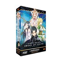 Wakanim - Sword Art Online - Arc 2 ALO Edition Gold 3 Dvd + Livret