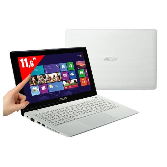2ef47d46ca25c7 Achat Asus X200MA-CT132H - Ultra Portable Tactile 11,6   - Intel Celeron  N2815 1,86 GHz HDD 500 Go - RAM 4 Go - Intel HD Graphics - Windows 8.1 -  Blanc ...