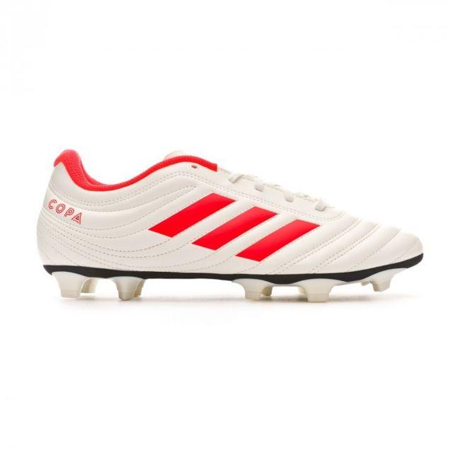 Adidas Copa 19.4 FG Off white Solar red Off white pas
