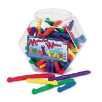 Learning Resources - Measuring Worms, Math Manipulatives, For Grades Pre-k And Up