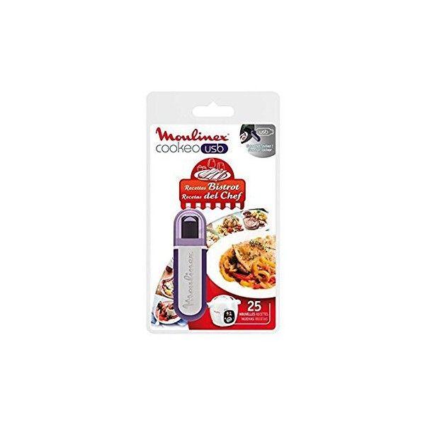 MOULINEX Clé USB Cookeo 25 recettes Bistrot Réf. XA600411