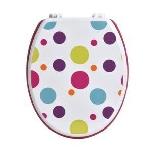 Eminza abattant wc confettis multicolore pas cher for Eminza magasin
