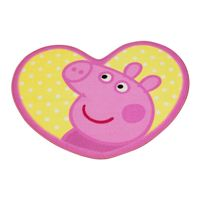 Character World - Tapis Coeur Peppa Pig Oink