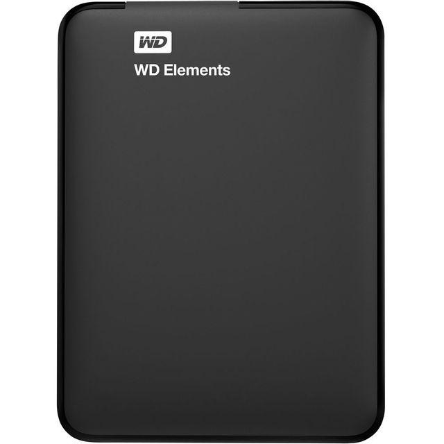 "WESTERN DIGITAL - Disque dur externe 2.5"" - 2 To - Wdbu6Y0020BBK-WESN"