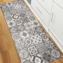 tapis vinyle achat tapis vinyle pas cher rue du commerce. Black Bedroom Furniture Sets. Home Design Ideas