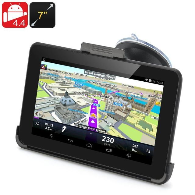 Yonis Gps Android 7 Pouces Tactile Capacitif Transmetteur Fm Wifi 16Go