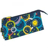 Smiley - Trousse Color 23 Cm - 3 compartiments