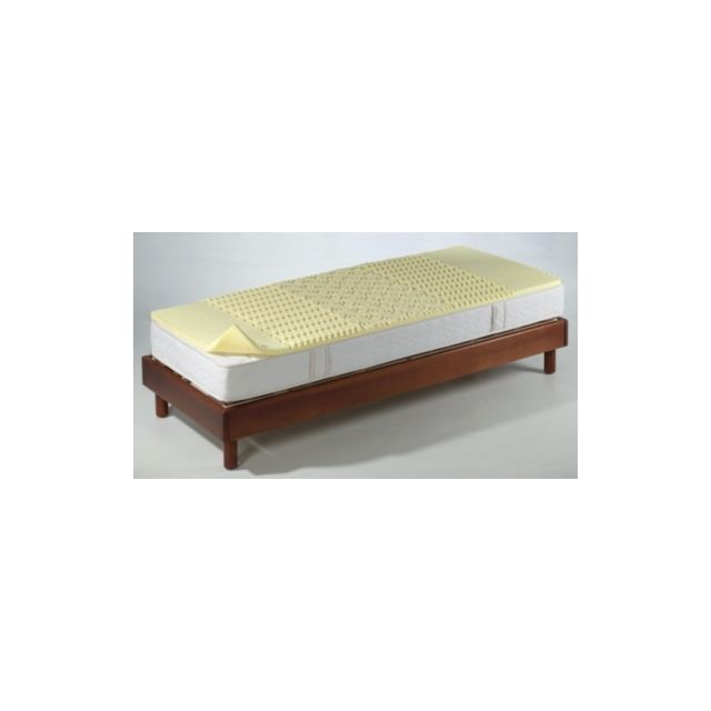 Oekosom Surmatelas mousse alvéolée 5 zones de confort 80 x 200 cm