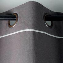 Stof - Rideau Duo 100% Coton 135 x 250 cm Gris/Perle