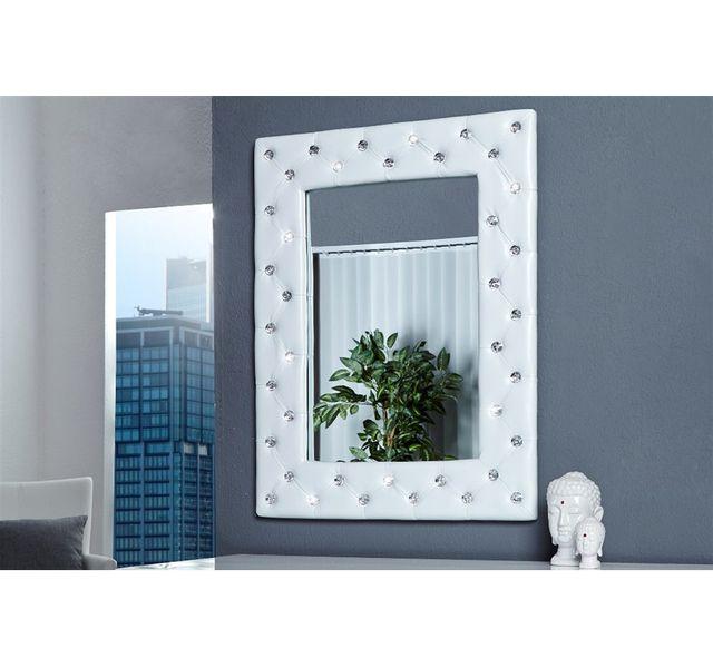 CHLOE DESIGN Miroir design Petillon - blanc