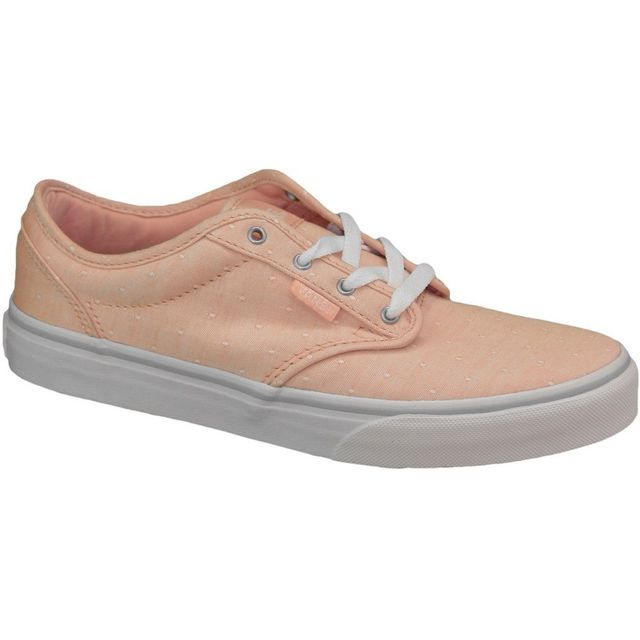 Vans Atwood Canvas VZUSIM5 Pink - Chaussures Baskets basses Femme