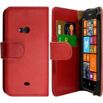 Karylax - Housse Coque Etui pour Nokia Lumia 625 Couleur Rouge