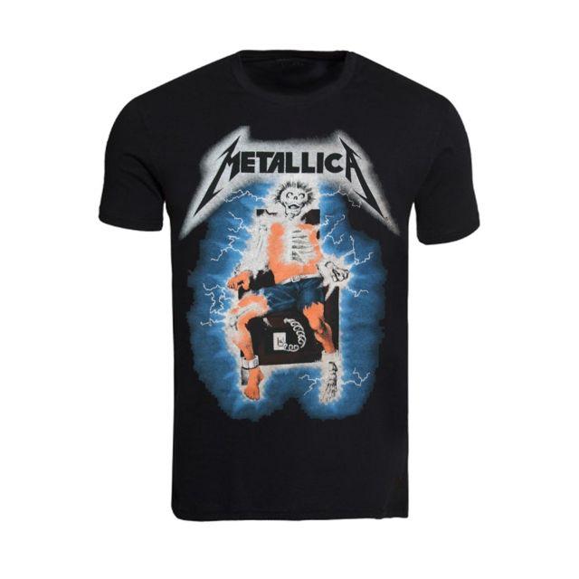 Noir The Metallica T Vintage Magiccustom Ride shirt Lightning 6A4Uqpn