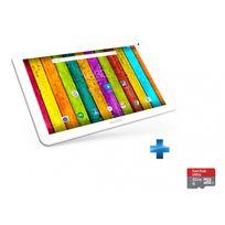 101e Neon - WiFi - Blanche + microSDHC 32 Go Sandisk Class 10