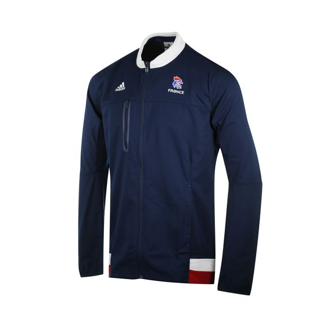 Adidas performance Veste Anthem Handball France Ffhb Bleu